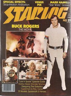 Starlog Magazine Lot # 21 22 23 24 25 Sci-Fi Star Wars - Trek , Alien , Superman