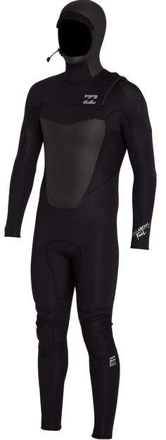 Billabong Foil PLUS Wetsuit Men's 5/4mm 504 Hooded Chest Zip Wetsuit Light and flexible, the Billabong Foil PLUS 5/4mm hooded wetsuit is made of 100% AX2 Superflex neoprene. The Foil PLUS takes performace to a whole new level with its 100% external...