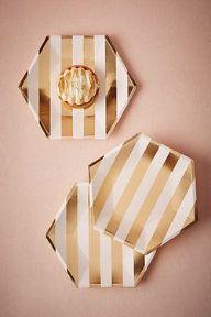 Hexagonal Paper Plates (8)