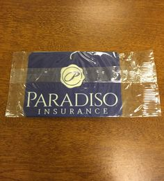 We now have custom #air #fresheners at our agency! Stop in and grab yours today. 8 E Main St. Stafford Springs CT #ParadisoInsurance