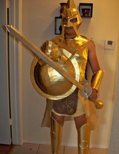 07a0f181998 Coolest 1000+ Homemade Costumes You Can Make! Costumes Mythologie Grecque