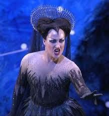 My absolute favorite interpretation of the Queen of the Night. San Francisco Opera, Diana