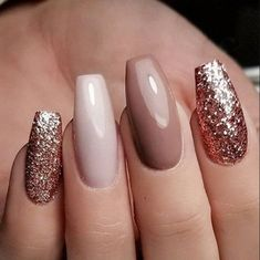 70 Eye-catching And Fashion Acrylic Nails, Matte Nails, Design You Should Try In Prom And Wedding - Nail Idea 20