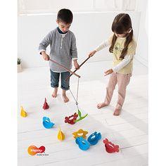 Weplay, Fish Angelspaß im Teamwork, Angelspiel für Kindergarten und Tagestätten | KF0008 / EAN:4260197678451