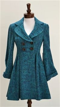 like the shape of this coat--Nanette Lepore  Cocktail A-line Coat  Seen on Gossip Girl