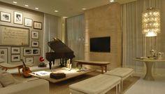 Glamour e Glacê: Casa: Composições com Quadros