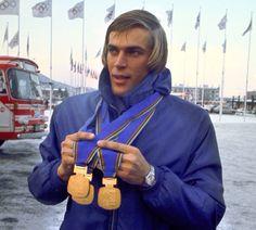 3 golden medal winner (Dutchman) Ard Schenk (Olympic winter games - 1972)