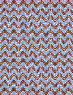 6. Har stof. Et smukt mønster i blåt, grønt og bourdeax.