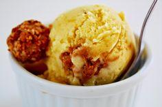 Cinnamon and Coriander: Peach & Giotto Frozen Yoghurt