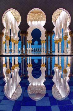 Fame Dubai Home - FameDubai Magazine Beautiful Mosques, Beautiful Buildings, Beautiful Landscapes, Beautiful Places, Beautiful Scenery, Amazing Places, Simply Beautiful, Mosque Architecture, Architecture Details