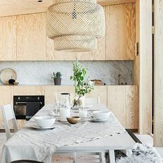 54 Premier Source for Affordable Dining Room Ideas on a budget - Yellowraises Kitchen On A Budget, Kitchen Dining, Kitchen Decor, Dining Room, Kitchen Cupboard, Plywood Interior, Home Interior, Scandinavian Interior, Interior Design