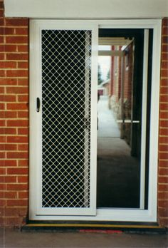Front door shutters to secure patio or sliding doors for for Sliding glass doors onto deck