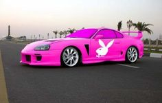 I would love this but i would make the car black instead of pink.