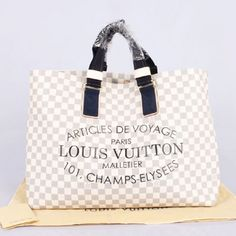 Louis Vuitton Damier Azur Canvas