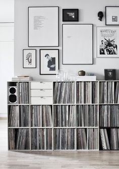 ikea record storage vinyl shelf vinyl storage best record shelf ideas on record storage vinyl record storage furniture and vinyl record storage vinyl record storage ikea vinyl record storage ideas Decoration Inspiration, Decoration Design, Interior Inspiration, Design Inspiration, Design Ideas, Decor Ideas, Record Shelf, Record Storage, Lp Storage