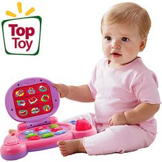 VTech - Baby's Learning Laptop, Pink