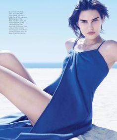 ☆ Catherine McNeil | Photography by Paola Kudacki | For Harper's Bazaar Magazine US | February 2014 ☆ #Catherine_McNeil #Paola_Kudacki #Harpers_Bazaar #2014