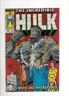 Incredible Hulk #346 McFarlane Modern Age Marvel Comic VF