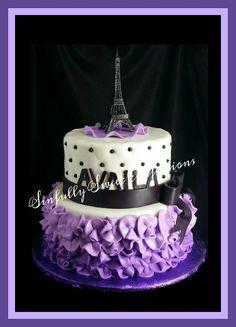 Princess Theme Birthday Cake