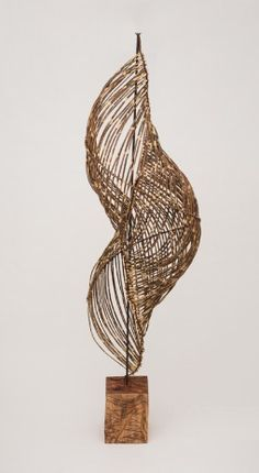 Contemporary Basketry: Bamboo, Message from the Sea, Charissa Brock