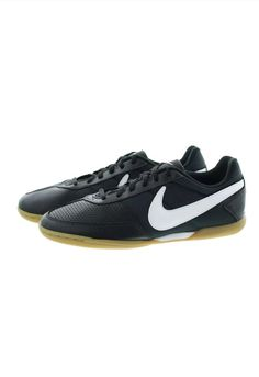 55b893b546e4 Nike Davinho Mens Indoor Soccer Shoes 580452 010 Black White Sz 5.5 New   fashion