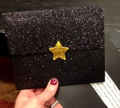 Sparkle envelope, would a star shaped flashlight work? Young Women's In Excellence. Award Show.