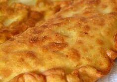 Τραβηχτές ή Μανιάτικες πίτες συνταγή από Κατερίνα Κ.Σ. - Cookpad Greek Recipes, Finger Foods, Appetizers, Pizza, Bread, Cheese, Cooking, Kitchens, Kitchen