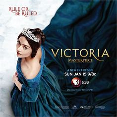 Victoria on PBS- SO romantic, great history, acting, settings- beautiful!