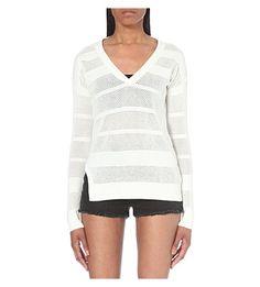 ALLSAINTS Fix Mesh Jumper. #allsaints #cloth #knitwear