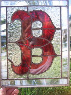Boston Red Sox Logo Glass Panel $40.95