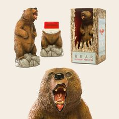 Old Spice Bear Deodorant Protector. It's a bear you keep your Deodorant in. This is a real thing.