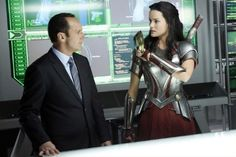 lady sif on marvels agents of shield  | Marvel Agents of SHIELD Sif Jaimie Alexander Photos Yes Men