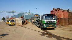 Volvo FH speciaaltransport uitschuiftreler zwaar transport