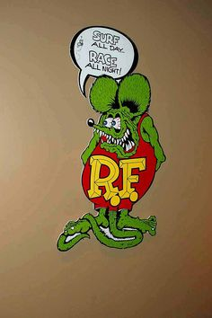 Rat Fink..Re-pin..Brought to you by #HouseInsurance #EugeneOregon Insurance for #cars old and new.