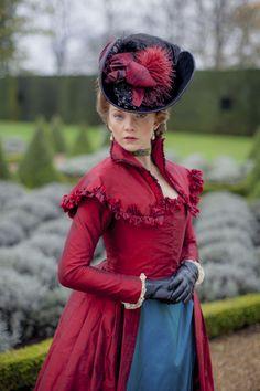 Natalie Dormer as Seymour, Lady Worsley in The Scandalous Lady W (2015). [x]