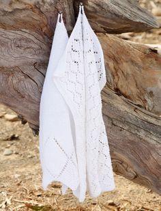 Strik de fineste gæstehåndklæder