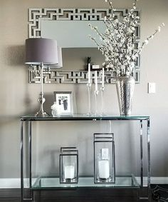 The Best Contemporary Console Tables for Your Living Room Modern Decoration modern console table decor Living Room Modern, Home And Living, Living Room Designs, Cozy Living, Glamour Living Room, Decor Room, Living Room Decor, Dining Room, Console Table Living Room