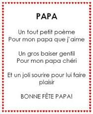 """Résultat de recherche d'images pour """"poeme pour papa"""""""