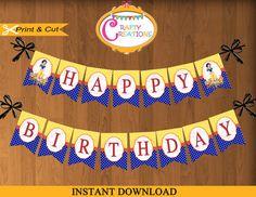 Descargar NIEVE bandera BLANCA cumpleaños por CraftyCreationsUAE