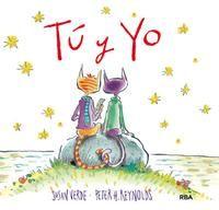 GENER-2017. Susan Verde. Tú y yo. Ficció (0-5 anys). Receptes pares. Llibre recomanat.