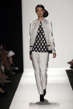 Academy of Art University Spring '13 Fashion Show - Yanfei Fan - Look 7