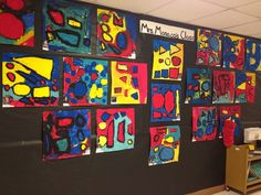Primary Color Shape PAINTING