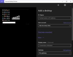 Here's our Guide to Remote Desktop Connection on Windows 10