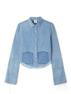 Vetements denim shirt