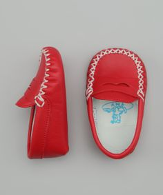 Red Basic Moccasin