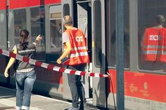 Officials are still piecing together what happened at the Salez train station in northeastern Switzerland when a man attacked a group of passengers, injuring several. One died of her injuries, as did the attacker (Keystone)