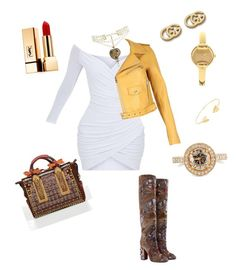 """Jazzy Girl"" by misha-rena on Polyvore featuring Dolce&Gabbana, Gucci, Lord & Taylor, Nasty Gal, Dsquared2 and Yves Saint Laurent"