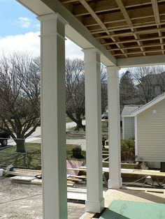 porch columns | Front Porch columns | Flickr - Photo Sharing!