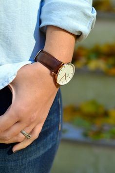 Double denim & Daniel Wellington - 15% off any DW watch with code rarelytakenseriously
