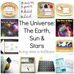 Every Star Is Different: The Universe: The Earth, Sun & Stars w/ Free Printables